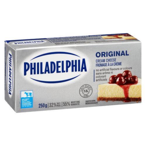 Brick Cream Cheese Product.