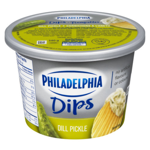 Pair with your favourite chips, crackers or veggies! 40% less fat than the leading sour cream.