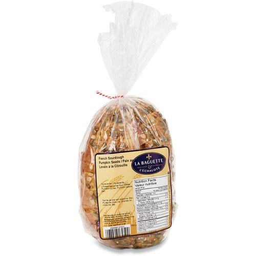 Slow fermented sliced bread.