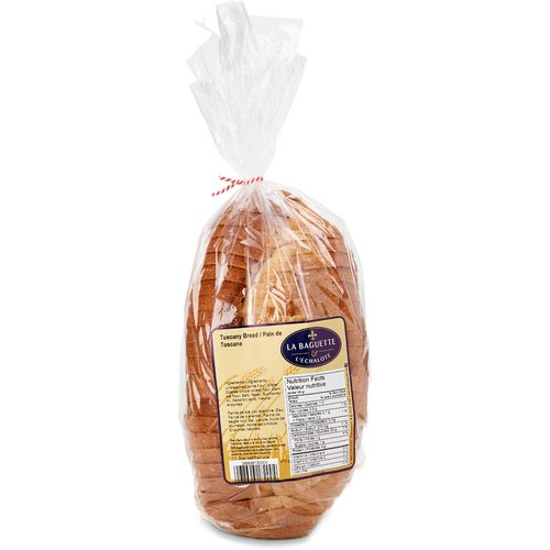 1 loaf of Tuscany sliced bread.