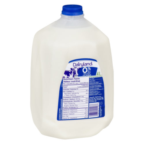 4 Litre JugAn Excellent Source of Calcium - Save On Foods Reserves the Right to Limit Quantities