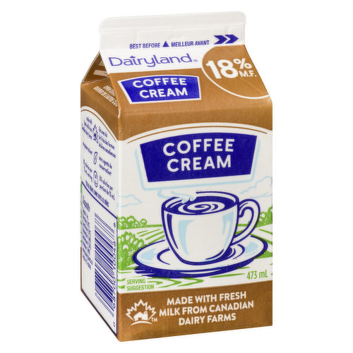 18% Cream is enjoyed by lovers of mellow, full-bodied coffee but is also an ideal ingredient in many soups, sauces and purees.