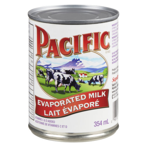 Evaporated Milk is richer, creamier and perfect to cook with.