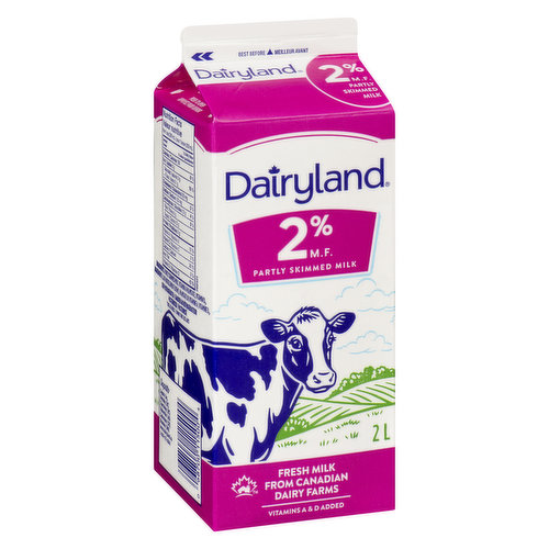 Partly Skimmed Milk An Excellent Source of Calcium Vitamins A & D Added  - Save On Foods Reserves the Right to Limit Quantities