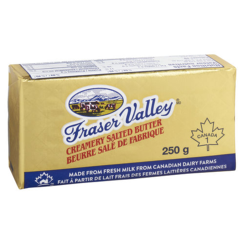 Creamy butter with a hint of salt. Great for all your baking/cooking needs.
