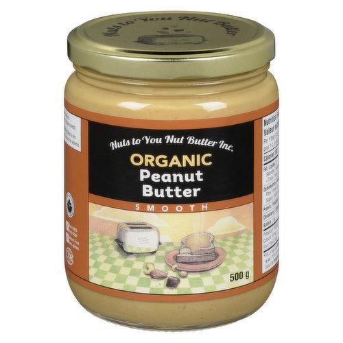 100% Natural Peanut Butter.