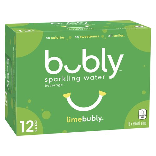 An unsweetened sparkling water that playfully instigates fun and positivity in everyday life. No calories or sweeteners. 12X355ml cans.