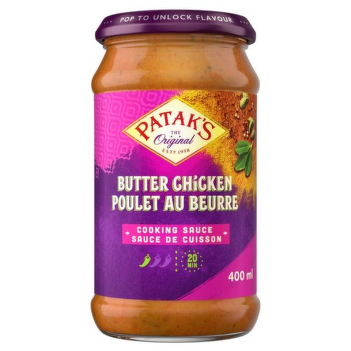 Tomatoes and Butter Give this Mild Sauce a Rich, Creamy Flavour.