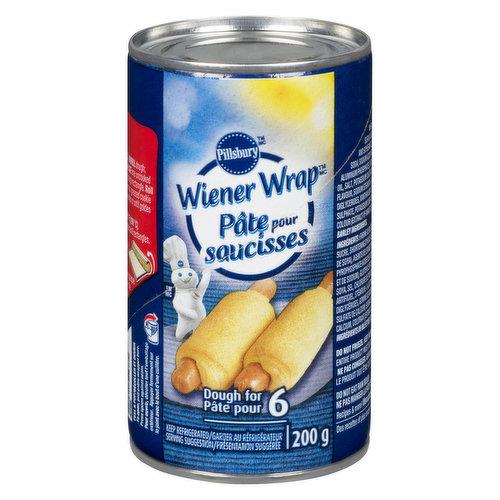 Dough for 6 Wraps