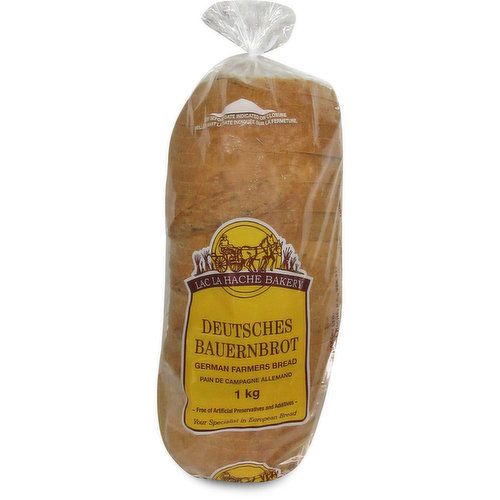 A medium rye bread with whole wheat flour and natural sourdough.<br />