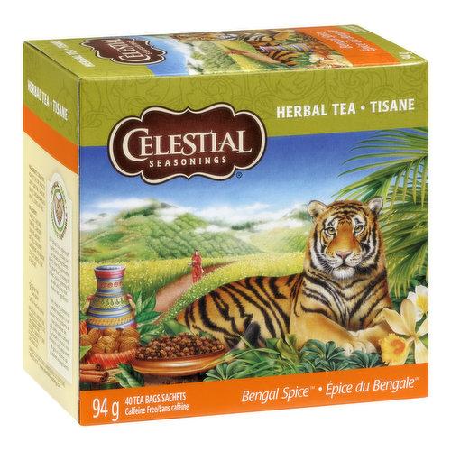 40 Tea Bags Caffeine Free.