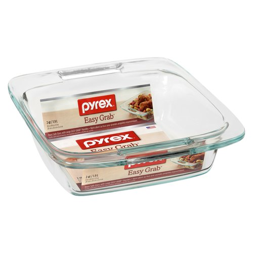 Pyrex glass is dishwasher, refrigerator, microwave & pre-heated oven safe. Oven Safe Glass with Large Easy Grab Handles.