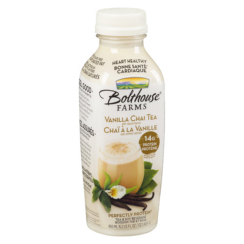 Vitamin and mineral blend to support good health with 19 g of soy protein per bottle.