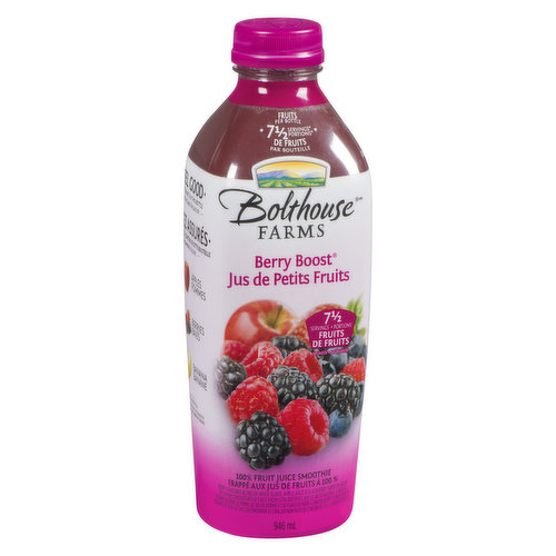 8-1/3 Fruit Servings per Bottle. A Source of Vitamin C to Support Good Health.