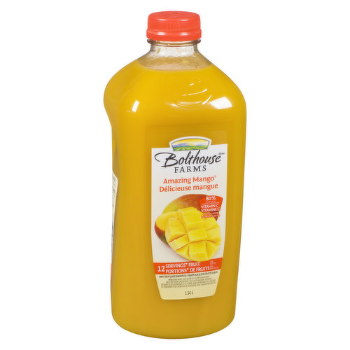 13 Servings of Fruit per Bottle with 60% of Daily Value Vitamin C.