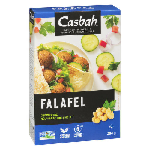 This delicious dish is made from chickpea flour combined with a blend of flavorful spices. Good source of fiber, contains 4 g of total fat per serving. 0 artificial colors, flavors or  preservatives.