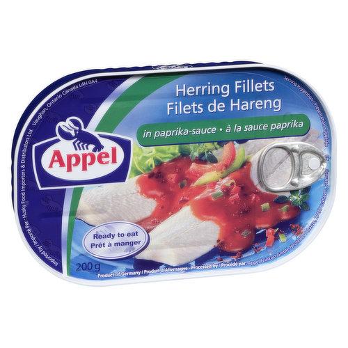 Appel Herring in Papika Sauce