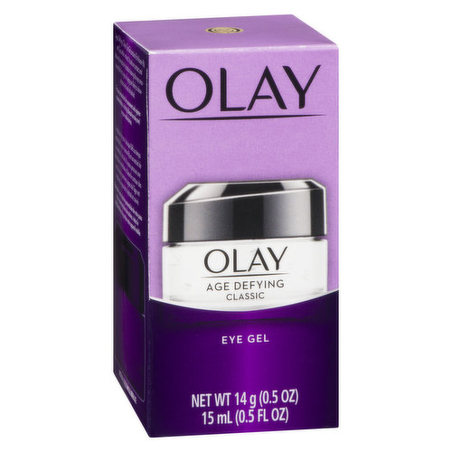 Gel works specifically near your sensitive eye area. Enriched with cucumber extract and Pro Vitamin B5, this Olay de-aging reduces fine lines around your eyes by providing moisture.