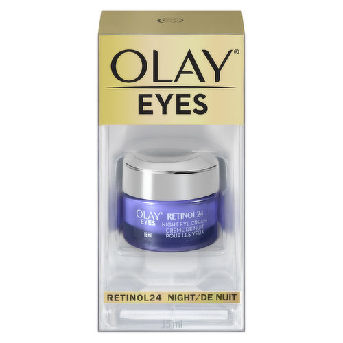 Retinol 24 Eye cream visibly firms, brightens, evens skin tone, and reduces the appearance of fine lines, wrinkles and dark circles. It has a light, silky feel and absorbs quickly, going deeper into the delicate skin surface around your eyes.