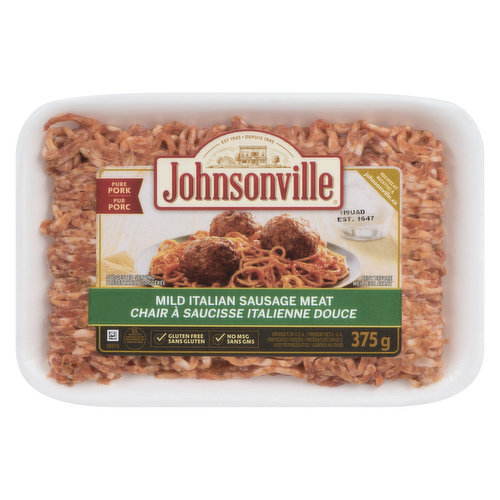 Gluten Free. Ground Meat Perfect Blend of Herbs and Spices.