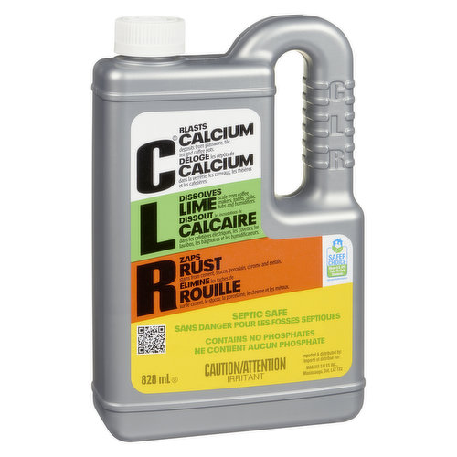 Septic Safe. Contains No Phosphates. Recognized for Safer Chemistry.