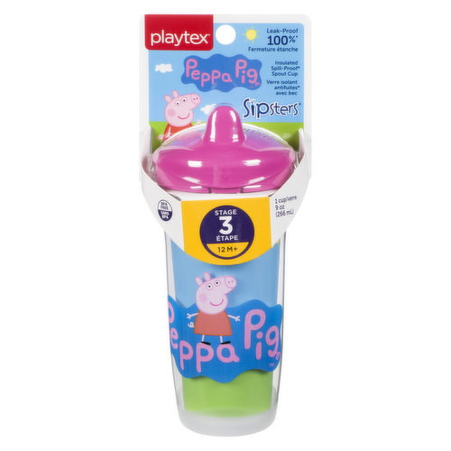 As your child becomes more active at ages 12 months and up, these insulated cups are designed for versatility and ensure that drinks remain cool and fresh twice as long.