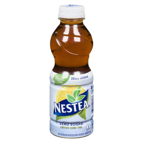 Natural Lemon Flavour Iced Tea. Made with Real Tea. No Preservatives.