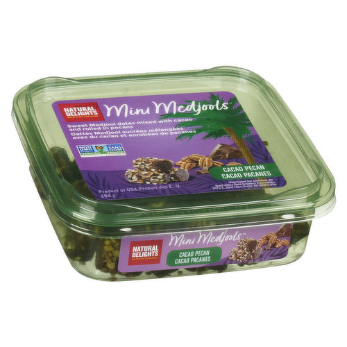 You won't believe it's not a brownie. No added sugar here, just delicious Medjool dates blended with cacao powder, then rolled in chopped pecans. Delicious & nutritious!