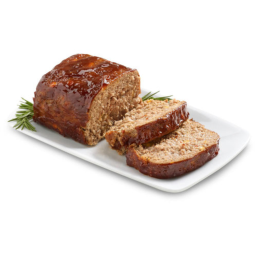 This is not your Grandmas Meatloaf. This Cheddar Cheese infused Beef Meatloaf is enhanced with the smoky sweet flavour of Chipolte Barbeque Sauce.<br />