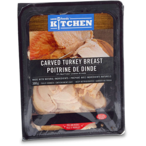Fully cooked, made with natural ingredients. 24% meat protein.