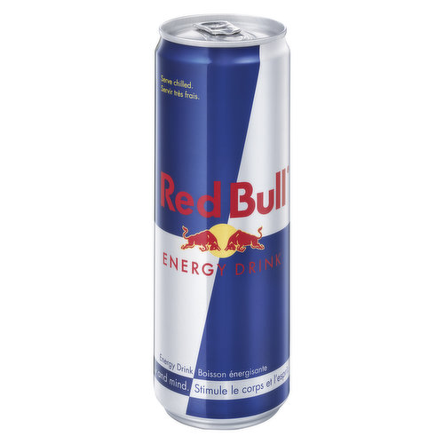 Vitalizes Body and Mind. Caffeine + Taurine + B-Group Vitamins + Sucrose & Glucose + Alpine Spring Water.