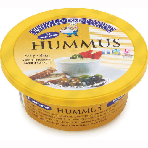 A Local Product. No Preservatives. Great for Dips and Spread.