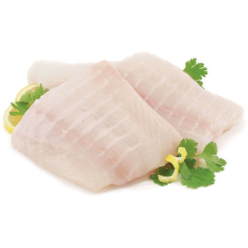 Fresh or Previously Frozen Wrapped and Packaged. Avg 1-2 in each Package may Vary. A Sustainable Seafood Option with Light, Mild Flavour. Easy to Grill, Try with a Little Sea Salt & Lemon, Dry Rub.
