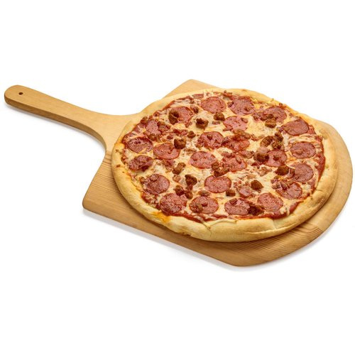 Enjoy this pepperoni & sausage pizza on a night you don't feel like cooking.