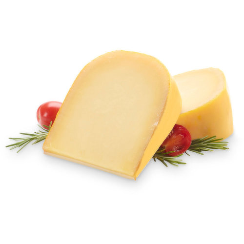 Yellow cheese made from cow's milk. Average Weight May Vary by Cut of Each Portion. Availalbe for a Limited Time While Quantities Last.