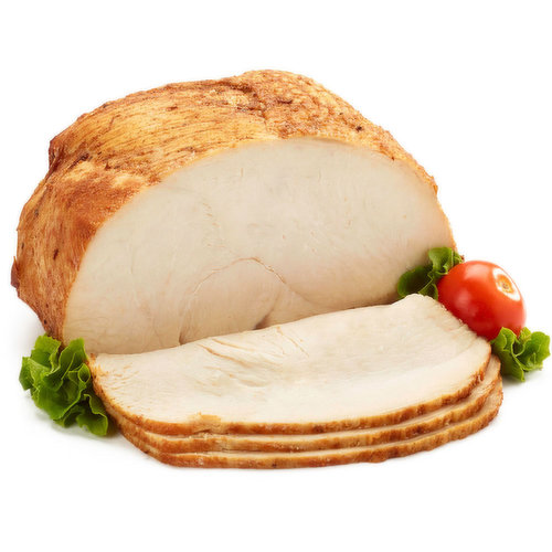 Roasted in store kettle fried turkey breast. Deli sliced or shaved. Please indicate in your notes on preference.