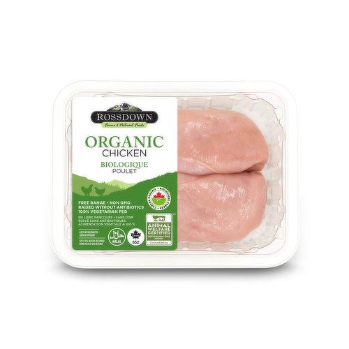 Chickens raised without antibiotics, free range, no animal byproducts, non-GMO. Product of Canada. Average weight per pack may vary.