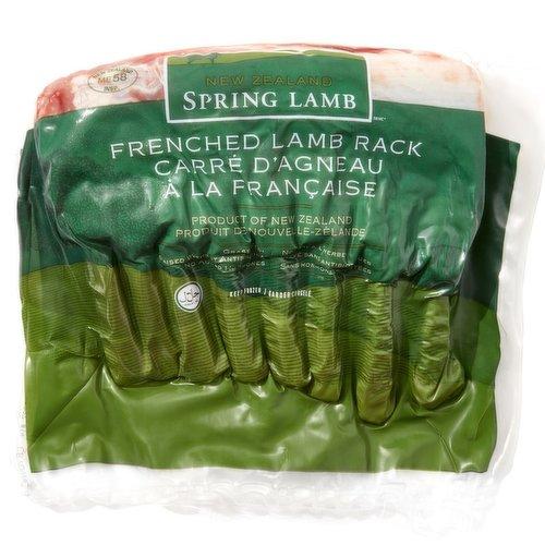 New Zealand Spring Lamb Product of New Zealand