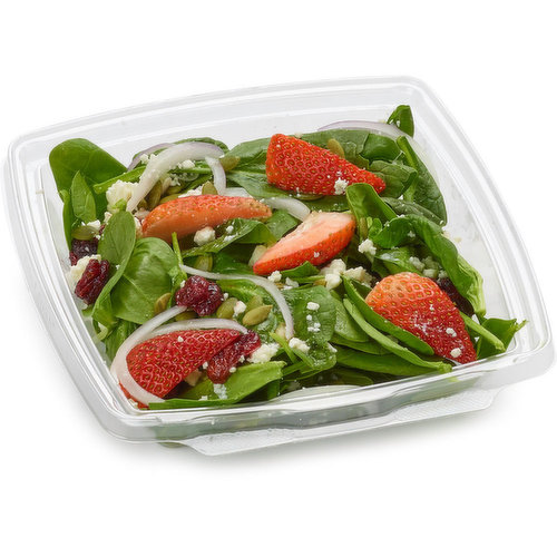 Leaf salads are made with the freshest ingredient daily.  Power bowls full of protein, healthy lunch or great for that quick snack.