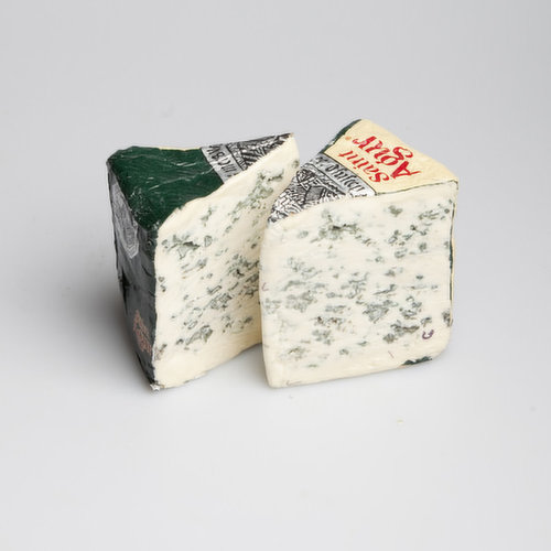 Saint Agur is a blue cheese made from pasteurised cow's milk in the village of Beauzac from the mountainous French region of Auvergne.