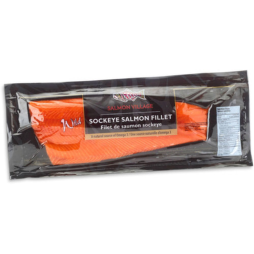 Frozen fillets packaged & vacuum sealed. Salmon portion weight may vary from 700g to 1Kg.