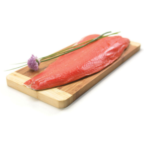 Weighed and Tray Packaged in Tray Pack. Average Weight of each Pack may VaryOne Full Fillet Tray: 700g Avg.