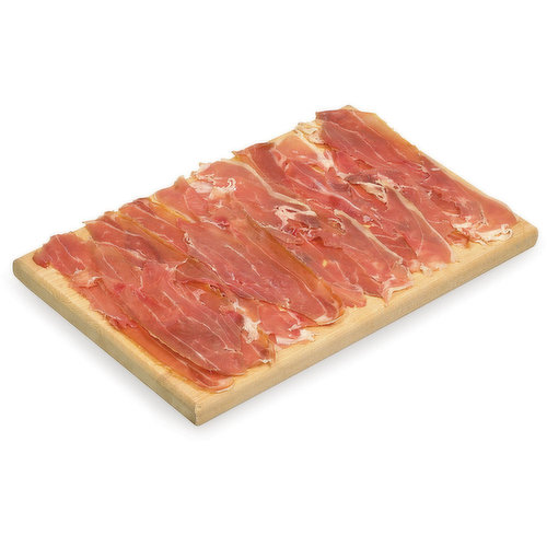 """"""" Italian Cured Ham. Deli Sliced or Shaved. Please indicate in your Notes on Preference."""