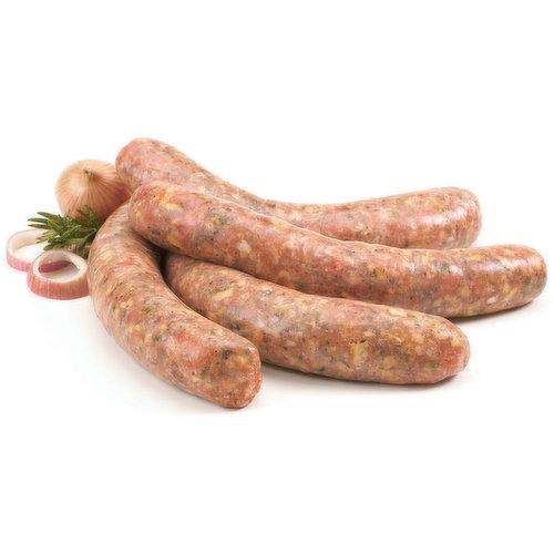 Fresh Sausage, Tuscan. Average weight per package, 115 Gram