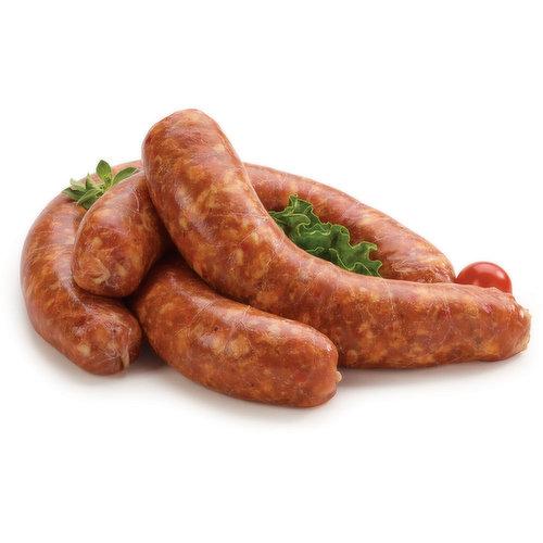 Fresh Sausage, Hot Italian, Average weight per package, 115 Gram