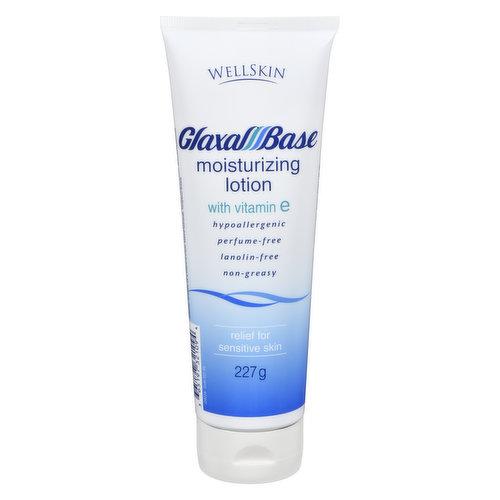 For Sensitive Skin. Hypoallergenic, Perfume Free, Lanolin Free, Non Greasy.