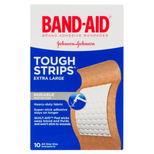 Heavy Duty Protection. 10 All One Size. Quiltvent Technology. Creates Air Channels for Superior Breathability. Wicks Away Blood to Keep Wounds Clean.