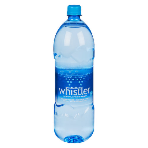 Local Product. Canadas Only Premium Glacial Water. Locally Canadian-Owned and Sourced.
