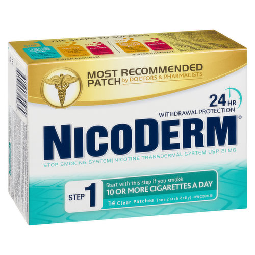 Offers 24-Hour Defense Against Nicotine Cravings. Smart Control Technology Helps Provide Controlled Release Of Therapeutic Nicotine For 24 Hours.