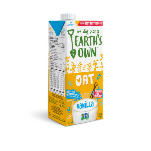 This Oat Milk causes love at first sip! Incredibly rich & oh so creamy. Uses 7x less water than almond or cows milk. Gluten, dairy, nut, soy, glyphosate & carrageenan free. Vegan friendly.